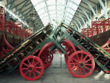 Market Barrows in Covent Garden Before Re-Development, London, England, United Kingdom Photographic Print by Adam Woolfitt