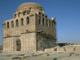 Mausoleum of Sultan Sanjar, Dating from 12th Century, Merv, Turkmenistan, Central Asia Photographic Print by Occidor Ltd