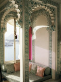 The Shiv Niwas Palace Hotel, Overlooking the Lake, Udaipur, Rajasthan, India Photographic Print by John Henry Claude Wilson