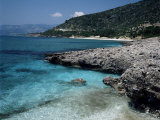Psili Ammos Beach, Island of Samos, Greek Islands, Greece Photographic Print by Loraine Wilson