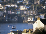 Polruan Near Fowey, Cornwall, England, United Kingdom Photographic Print by Nick Wood