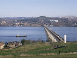 The Tay Bridge, Dundee, Angus, Scotland, United Kingdom Photographic Print by Adam Woolfitt
