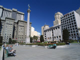 Union Square, San Francisco, California, USA Photographic Print by Alison Wright