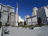 Union Square, San Francisco, California, USA Photographic Print by Alison Wright