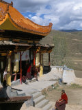 A Tibetan Nunnery at Garze, Sichuan Province, China Photographic Print by Occidor Ltd