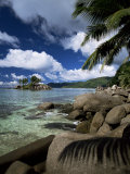 Coast, Island of Mahe, Seychelles, Indian Ocean, Africa Photographic Print by  R H Productions