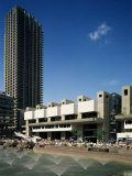 The Barbican Centre, London, England, United Kingdom Photographic Print by Loraine Wilson