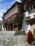 Tibetan Monastery Outside Garze, Sichuan Province, China Photographic Print by  Occidor Ltd