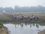Mass Mobilisation, Irrigation Project, Yunnan, China Photographic Print by  Occidor Ltd