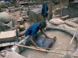 Making Hand Made Paper, China Photographic Print by  Occidor Ltd