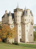 Craigievar Castle, Aberdeenshire, Highland Region, Scotland, United Kingdom Photographic Print by  R H Productions