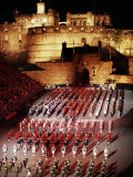 The Military Tattoo, Edinburgh, Lothian, Scotland, United Kingdom Photographic Print by Adam Woolfitt