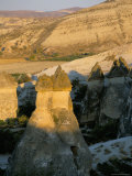 Fairy Chimney Rock Formations, Cappadocia, Anatolia, Turkey Photographic Print by Alison Wright