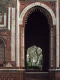 Alai Gate, Quwwat Ul Islam Mosque, Delhi, India Photographic Print by Adam Woolfitt