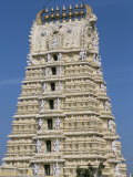 Chamundeswara Temple, Chamundi Hills, Mysore, Karnataka, India Photographic Print by  Occidor Ltd