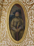Portrait of Erstwhile Maharajah or Prince of Sirohi, Sirohi, India Photographic Print by John Henry Claude Wilson