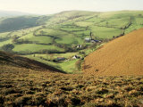 Llangollen, Llantysilio Mountains, Clwyd, Wales, United Kingdom Photographic Print by Loraine Wilson