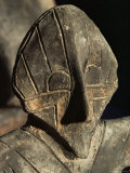 Close-Up of Carving, Vinca Culture, Belgrade Museum, Serbia Photographic Print by Adam Woolfitt