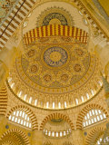 Interior of the Selimiye Mosque, Edirne, Anatolia, Turkey Photographic Print by Adam Woolfitt