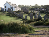 Lines of Menec, Carnac, Brittany, France Photographic Print by Adam Woolfitt