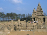 Shore Temple at Mahabalipuram, Unesco World Heritage Site, Chennai, Tamil Nadu, India Photographic Print by Occidor Ltd 