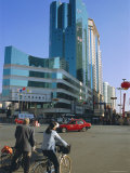 Modern Buildings, Kunming, Yunnan Province, China Photographic Print by  Occidor Ltd