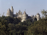 Chateau, Pierrefonds, Picardie (Picardy), France Photographic Print by  R H Productions