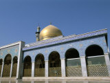 Sayyida Zeinab Iranian Mosque, Damascus, Syria, Middle East Photographic Print by Alison Wright