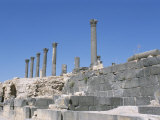 Archaeological Site, Umm Qais (Umm Qays) (Gadara), Jordan, Middle East Photographic Print by Alison Wright