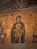 Mosaics in the Hagia Sophia, Originally a Church, Then a Mosque, Istanbul, Turkey Photographic Print by  R H Productions