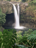 Rainbow Falls, Hilo, Island of Hawaii, Hawaiian Islands, USA Photographic Print