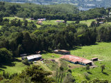 Farming on the Slopes of the Poas Vocano, Costa Rica, Central America Photographic Print by  R H Productions