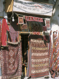 Carpets for Sale in the Market, Damascus, Syria, Middle East Photographic Print by Alison Wright