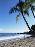 Beach, Hana Coast, Maui, Hawaii, Hawaiian Islands, United States of America, Pacific, North America Photographic Print by Alison Wright