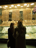 Women Looking at Gold in the Grand Bazaar, Istanbul, Turkey Photographic Print by R H Productions
