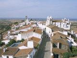 Hill Village of Monsaraz Near the Spanish Border, Alentejo Region, Portugal Photographic Print by  R H Productions
