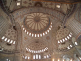 Interior of the Blue Mosque (Sultan Ahmet Mosque), Istanbul, Turkey Photographic Print by  R H Productions