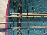 Traditional Ikat Weaving, Flores, Indonesia, Southeast Asia Photographic Print by Alison Wright