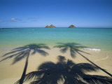 Lanikai Beach, Oahu, Hawaii, Hawaiian Islands, USA Photographic Print