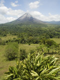 Arenal Volcano from La Fortuna Side, Costa Rica, Central America Photographic Print by  R H Productions