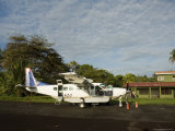 Tortuguero Airport, Tortuguero National Park, Costa Rica, Central America Photographic Print by  R H Productions