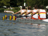 Rowing at the Henley Royal Regatta, Henley on Thames, England, United Kingdom Photographic Print by  R H Productions