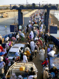 Banjul to Bari Ferry, Banjul, the Gambia, West Africa, Africa Photographic Print by  R H Productions