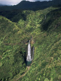 Manawaiopuna Falls, Kauai, Hawaiian Islands, USA Photographic Print