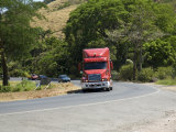 Truck on Pan American Highway, Near San Jose, Costa Rica, Central America Photographic Print by R H Productions