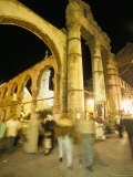 Souq Al-Hamidiyya, Old City's Main Covered Market, at Night, Damascus, Syria, Middle East Photographic Print by Alison Wright