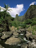 Iao Needle, Iao Valley, Island of Maui, Hawaii, Hawaiian Islands, USA Photographic Print