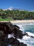 Kauna Oa Beach, at Mauna Kea Beach Hotel, Island of Hawaii, United States of America Photographic Print