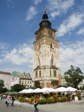 Town Hall Tower, Main Market Square, Old Town District, Unesco World Heritage Site Photographic Print by  R H Productions