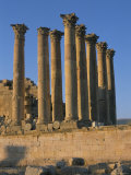 Ruins, Archaeological Site, Jerash, Jordan, Middle East Photographic Print by Alison Wright